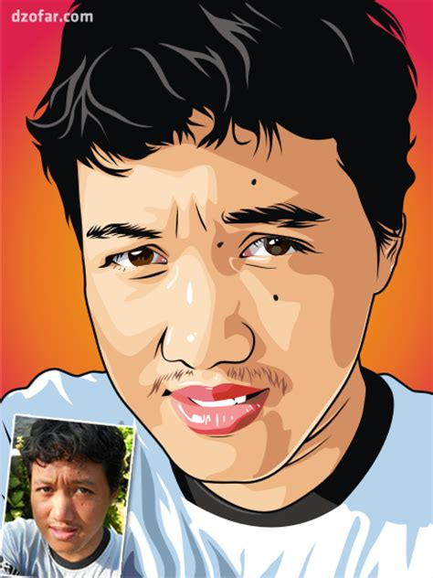 tutorial edit foto vektor di photoshop jasa gambar vector edit foto jadi kartun sang vectoria