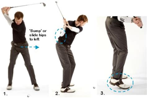 golf swing technique golf swing transition free online golf tips