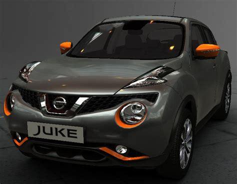 grey nissan juke new nissan juke exclusive exterior style pack orange new