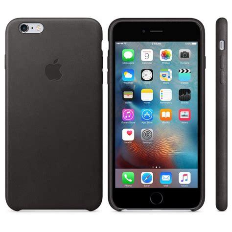 apple funda leather para el iphone 6s plus negro mkxf2zm a procomponentes