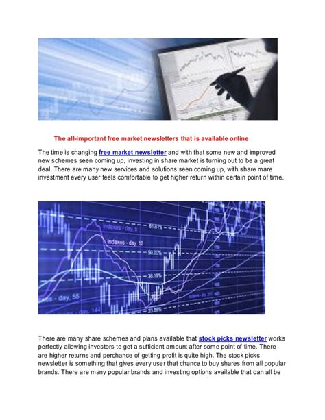 Best Financial Newsletter Best Investment Stock Market Newsletter