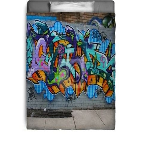 graffiti bedding bedroom ideas