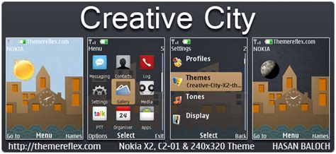 live themes for nokia x2 02 creative city live theme for nokia x2 00 c2 01 x2 02 x3