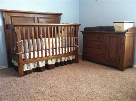 bassett baby changing bassett oak crib for sale