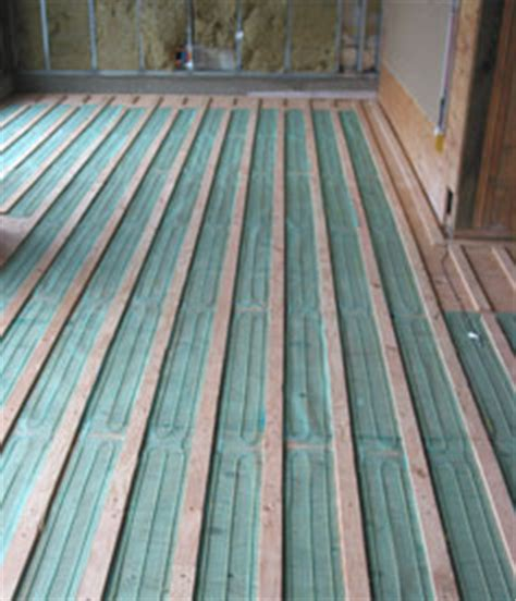 Heated Floor Installation by Heated Hardwood Floor Systems Heating Wood Flooring