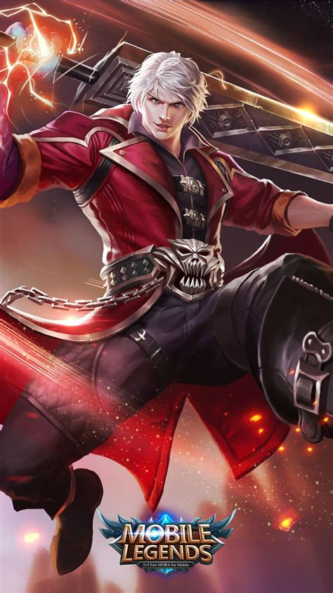 alucard wallpaper mobile mobile legends alucard demon hunter mobile legends