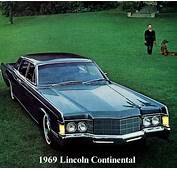 1969 Lincoln Continental Contents  AUTOMOTIVE MILEPOSTS