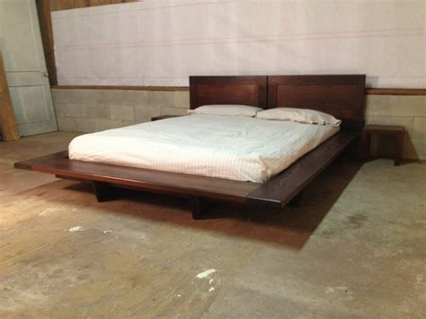 Floating Platform Bed Floating Platform Bed Contemporary Platform Beds Charleston By Sanders Woodworks