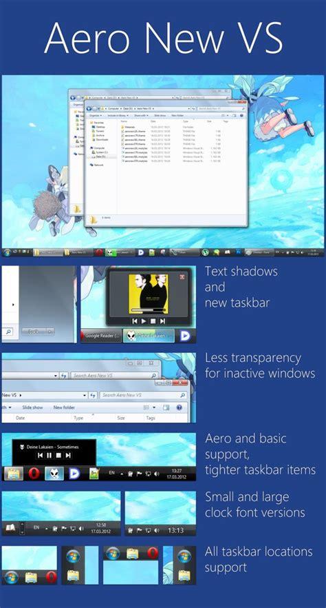 new themes windows 7 aero new windows 7 visual style
