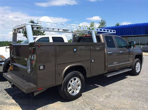 Utility Truck Ladder Racks by Looking Chevy With Knapheide Service And System