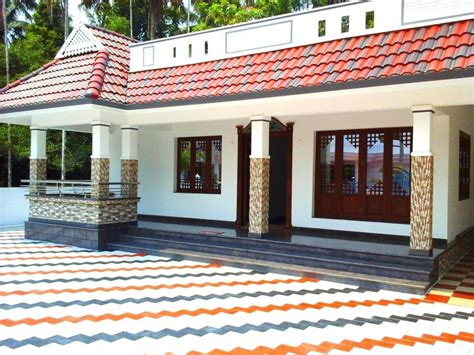 home design single floor house for sale in kochi kerala