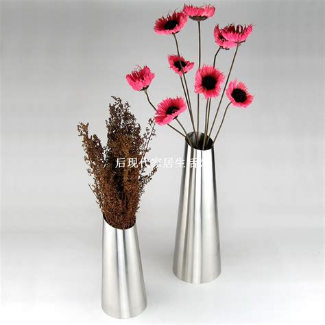 Stainless Steel Flower Vase by Free Shipping Exquisite Stainless Steel Vase Home Decor