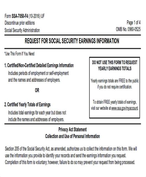 Social Security Records Free Social Security Administration Form A Card That Was Created In 1935 For The Social