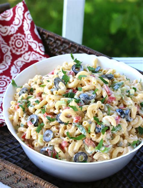 best pasta salad recipe best macaroni salad the daring gourmet