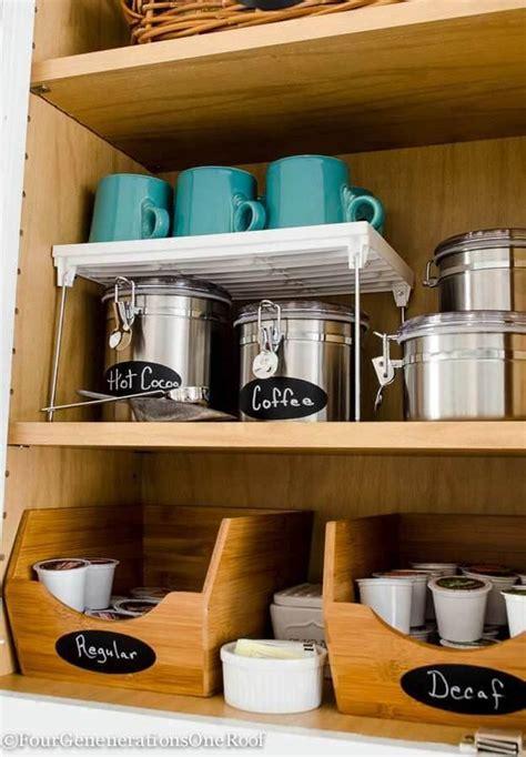 Mug Shelf Kitchen by 24 Best Coffee Mug Organization Ideas And Designs For 2017