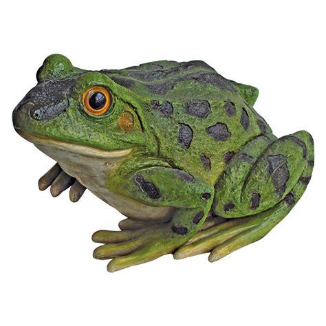 Garden Frogs by Design Toscano Ribbit The Frog Garden Toad Statue Garden