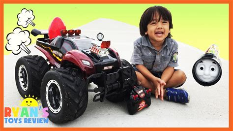 toy monster truck videos for kids cars diecast trucks play set vehicles for boys mighty fire