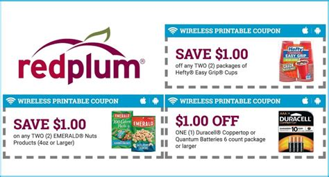 printable grocery coupons redplum now you can print some redplum coupons from your phone