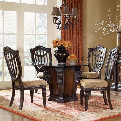 fairmont dining room sets grand estates 5 piece dining table and chairs set by