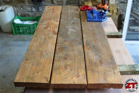 Exceptional Construire Table De Jardin Avec Palette #8: Fabriquer-table-ecolier-enfant-51.jpg