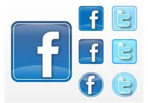 facebook twitter vectors download free vector art stock