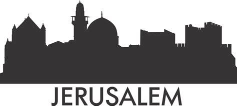 Wall Stickers Quotes Family printwallart jerusalem skyline