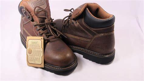 new mens c e schmidt 70503 soft toe work boots brown size