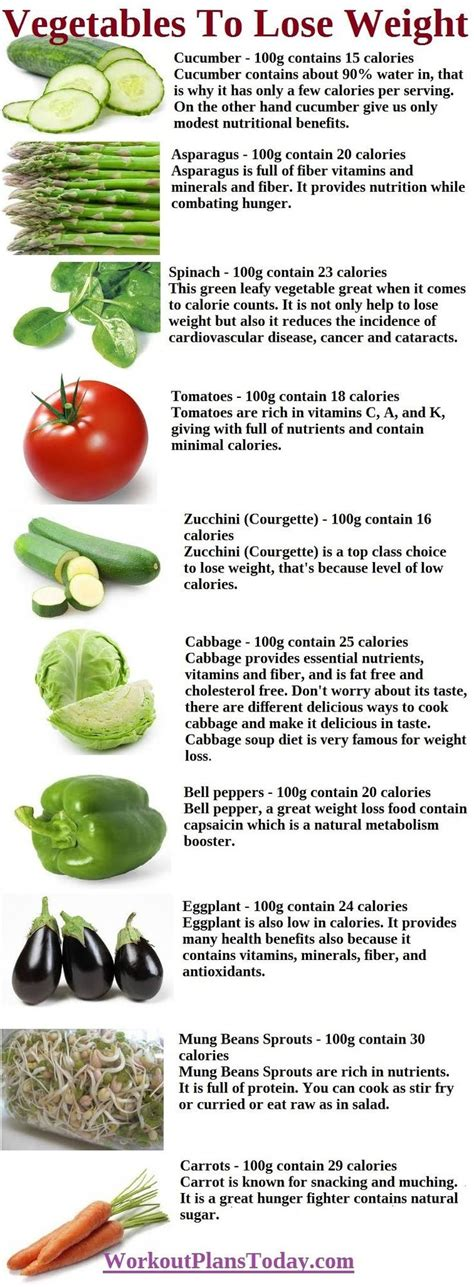Vegetable And Fruit Detox Weight Loss 10 vegetables to lose weight health and fitness tips