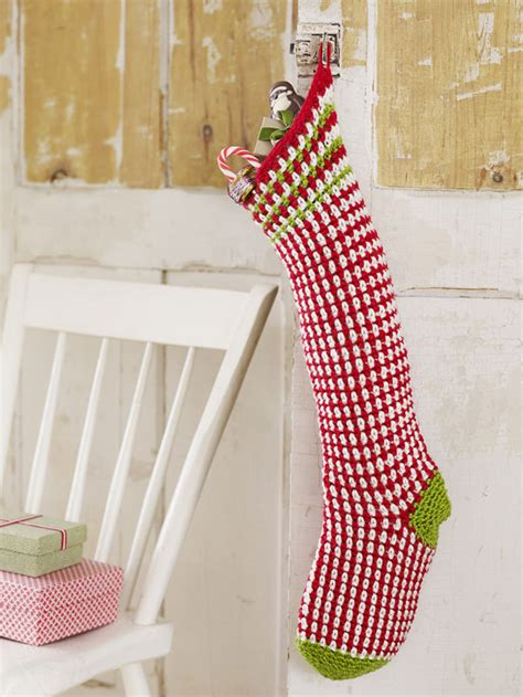 pattern for christmas stocking crochet 40 all free crochet christmas stocking patterns patterns hub