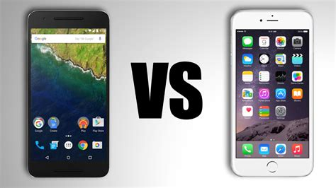 nexus 6p vs iphone 6s plus the 6 s of the fall tech gadget central