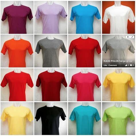 Pertama Di Indonesia Kaos Polos O Neck 3 polo shirt polos jakarta