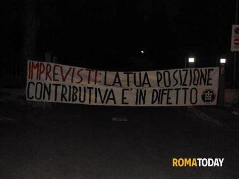 sedi agenzia delle entrate roma blitz notturno di casapound nei castelli romani contro la