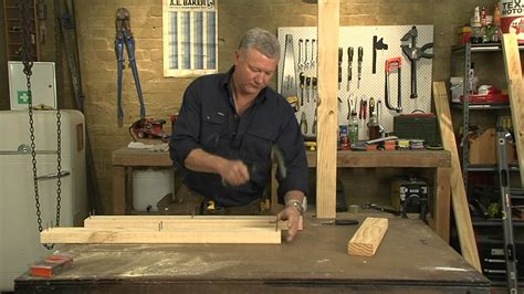 Frame House Plans mitre 10 how to build a stud wall presented by scott cam