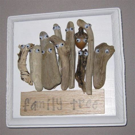 driftwood crafts for driftwood craft family tree
