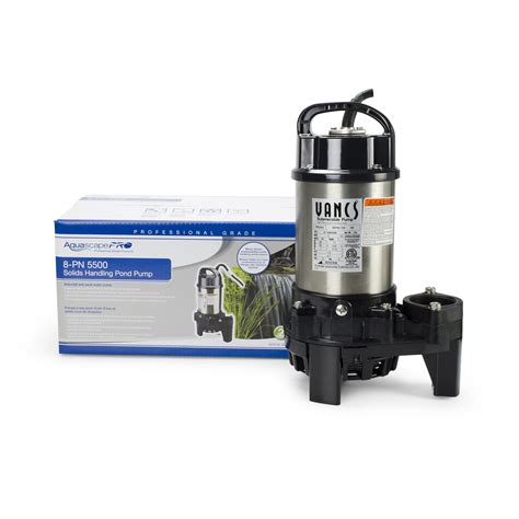 Aquascapes Pumps by Aquascape Pn Series Solids Handling Pond Pumps Upright