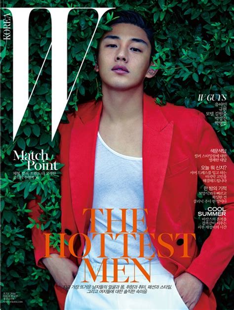 yoo ah in shows yoo ah in shows off manly look in magazine shoot