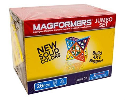 Set Import 26 Magformers Jumbo Set 26 Pieces Import It All