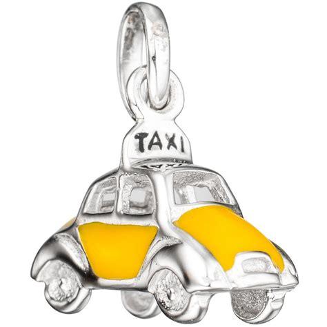 Schmuck Gold Lackieren by Anh 228 Nger Auto Taxi Gelb Lackiert 925 Silber Halsschmuck