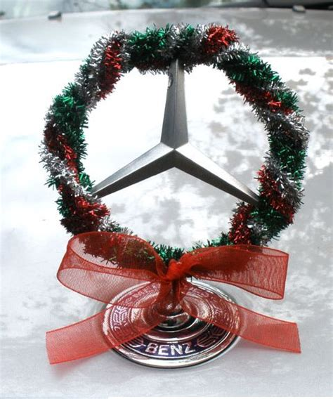 decorating  benz  christmas christmas car mercedes accessories mercedes benz cars