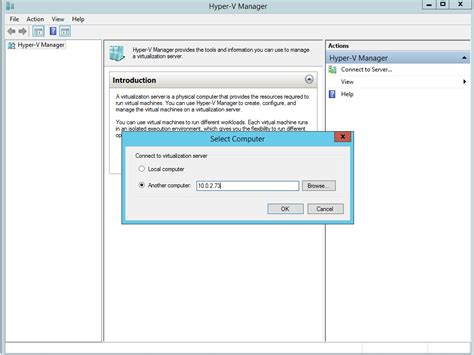 hyper v management console how to install hyper v step by step guide