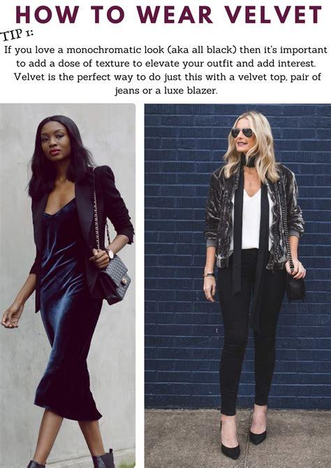 Velvet Wear by How To Wear Velvet The Right Way Velvet Wearing Tips