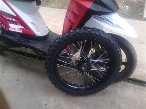 Sepaket Velg X Ride Ring 14 17 Model Klx Pket Lngkp Plus Ban Cross estimasi merubah kaki kaki yamaha x ride menjadi cross viwimoto