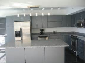 Kitchen Cabinets Modern by Modern Grey Cabinets