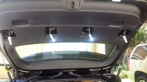 how to install led lights in car interior dome light car 156w 12v 24led car ceiling dome light