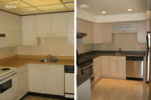Before And After Pictures Of Kitchen Updates Model Mobile Home Makeover Before And After