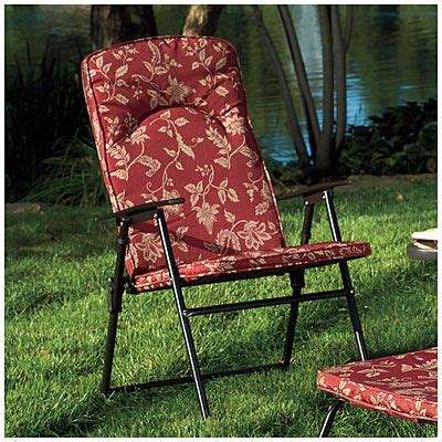 wilson fisher folding padded chair  big lots