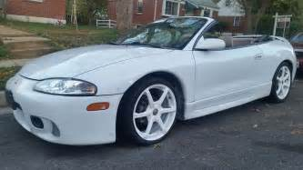 picture of 1997 mitsubishi eclipse spyder 2 dr gs convertible