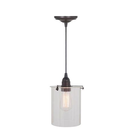 home decorators collection pendant lights home decorators collection lane 1 light brushed bronze