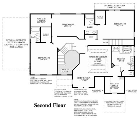 home floor plans models dominion valley country club lenah mill executive
