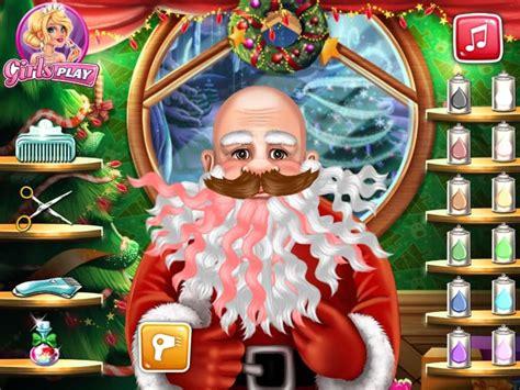 real haircuts games pou santa s real haircuts game funnygames us